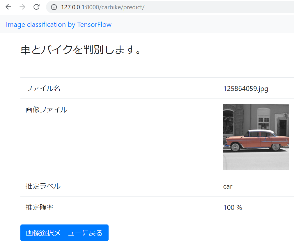Web Application: 第11回 HTMLにTensorFlowを連動させる